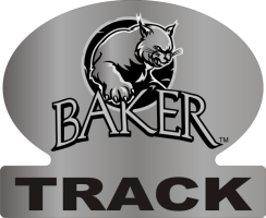 Laser Magic Baker University Baker Logo Track