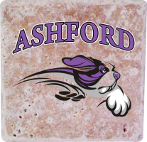 Laser Magic Ashford University Stone Coaster 4 Pack