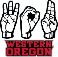 Laser Magic Western Oregon University Decal A Sign