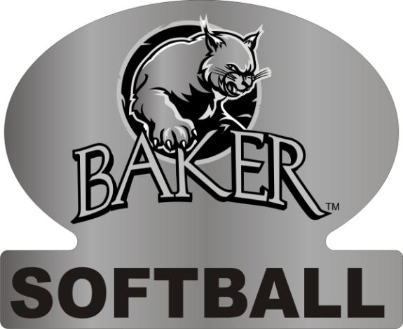 Laser Magic Baker University Baker Logo Softball