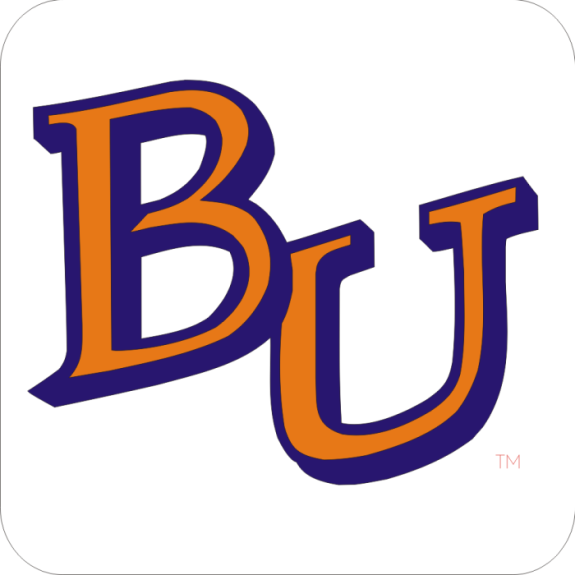 Laser Magic Baker University Bu Logo