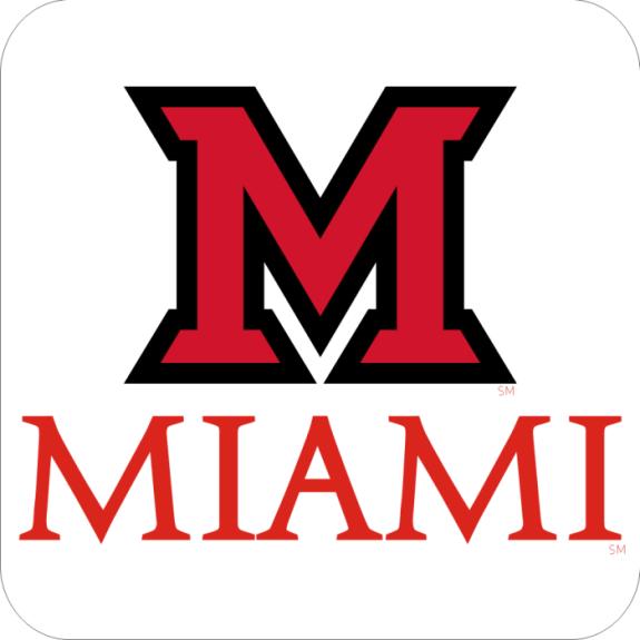Laser Magic Miami University Ohio Hc Block M Over