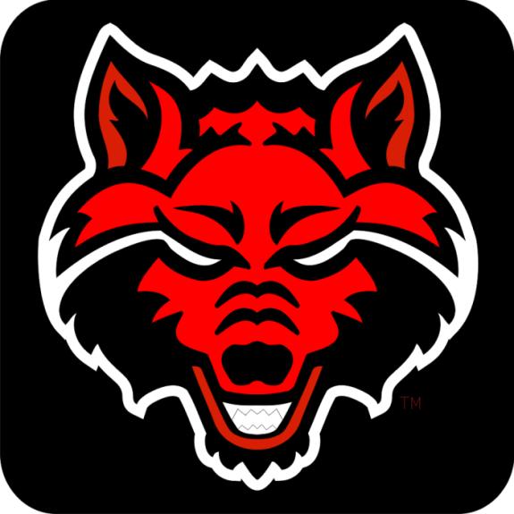 Laser Magic Arkansas State University Hc Wolf Head