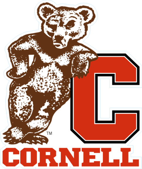 Laser Magic Cornell University Magnet B Bear On C Logo