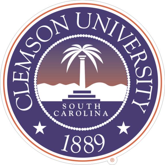 Laser Magic Clemson University Clemson Seal Decal Size A