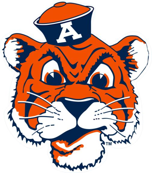 Laser Magic Auburn University Magnet E Auburn Tiger