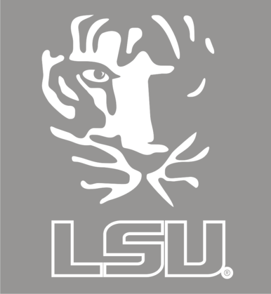 Laser Magic Louisiana State University Tiger Outline
