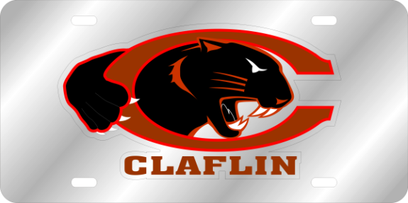 Laser Magic Claflin University Stainless Claflin