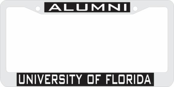 Laser Magic Florida University Of Chrome Frame