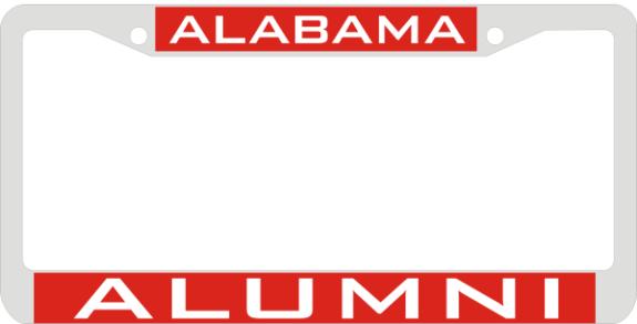Laser Magic Alabama University Of Chrome Frame