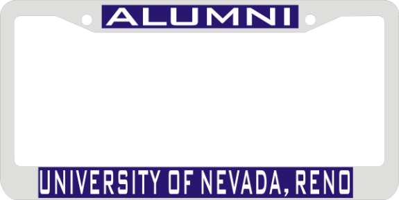 Laser Magic Nevada Reno University Of Chrome Frame