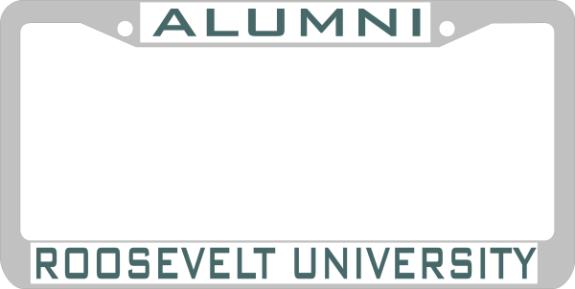 Roosevelt University Email >> Laser Magic Roosevelt University Chrome Frame Alumni