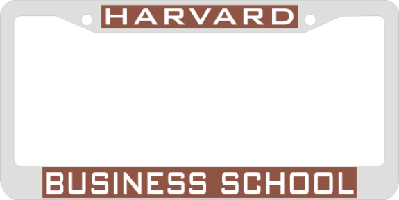 Laser Magic - HARVARD UNIVERSITY - Chrome Frame - HARVARD/BUSINESS ...