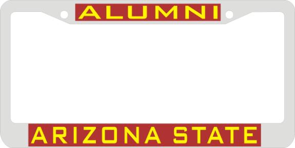 Laser Magic Arizona State University Chrome Frame