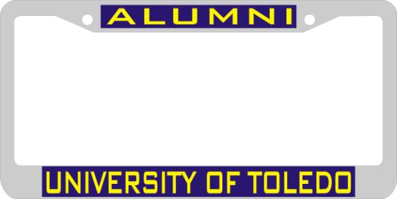 Laser Magic Toledo University Of Chrome Frame
